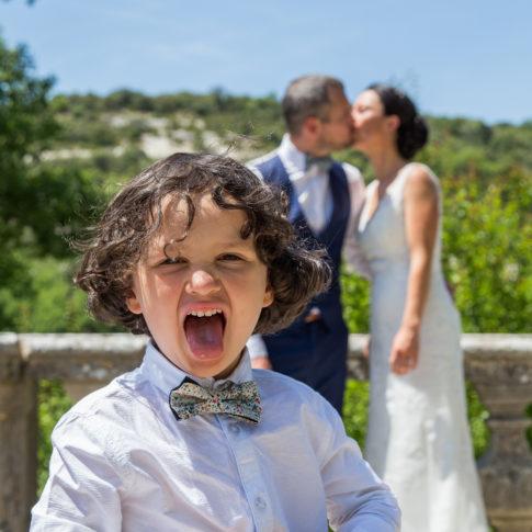 Enfant, Fils, Couple fun, Mariage, Wedding, Frédéric Bonnaud, FredB Art, Photo, Photographer, Art, Marseille, France