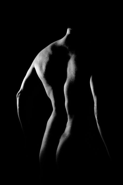 Nude, Dos, Nu, Corps, Black And White, Frédéric Bonnaud, FredB Art, Noir et Blanc, Man, Project, Photo, Photographer, Art, Marseille, France