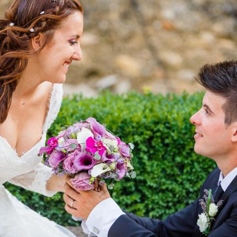 Couple, Bouquet, Fleurs, Mariage, Wedding, Frédéric Bonnaud, FredB Art, Photo, Photographer, Art, Marseille, France